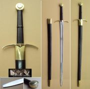 Elegant Two Handed Stage Combat Sword & Sheath